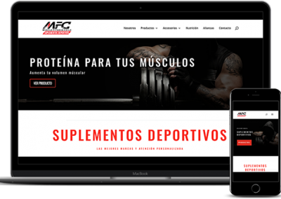 Sitio Web Ecommerce – MFC